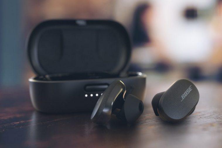 Écouteurs Bose QuietComfort: les nouveaux écouteurs sans fil de Bose sont dotés d'une annulation de bruit active par drapeau
