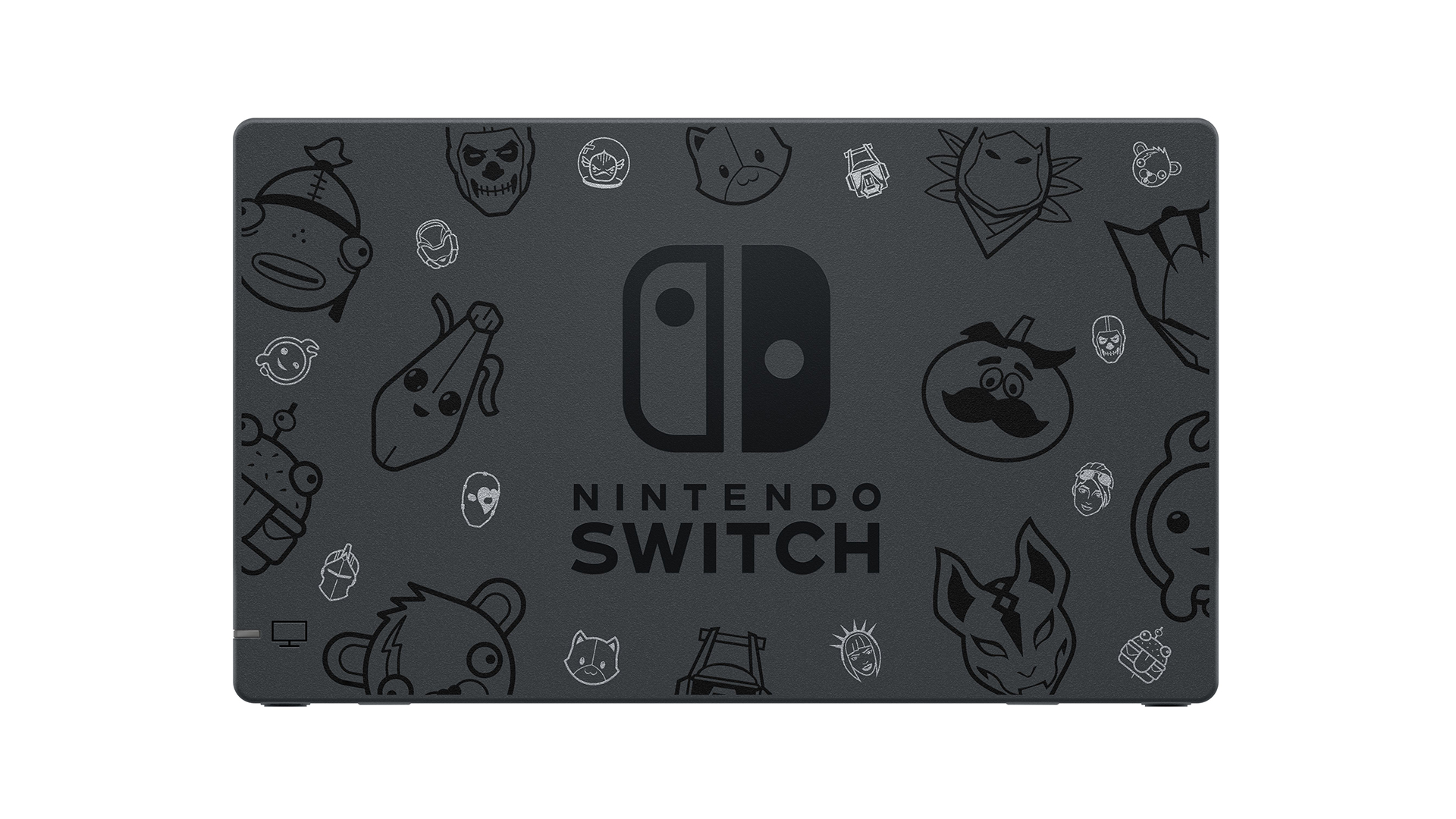 Nintendo Switch Fortnite Special Edition - face arrière