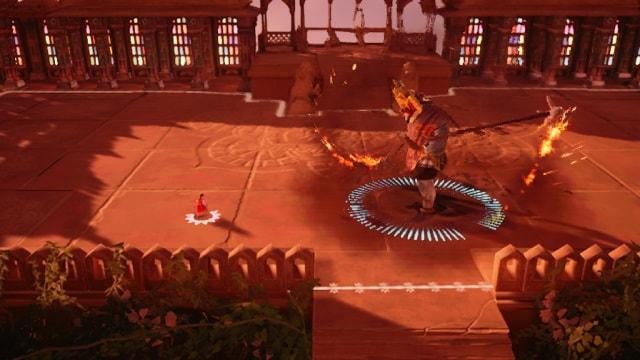 Capture d'écran de Raji: une ancienne épopée
