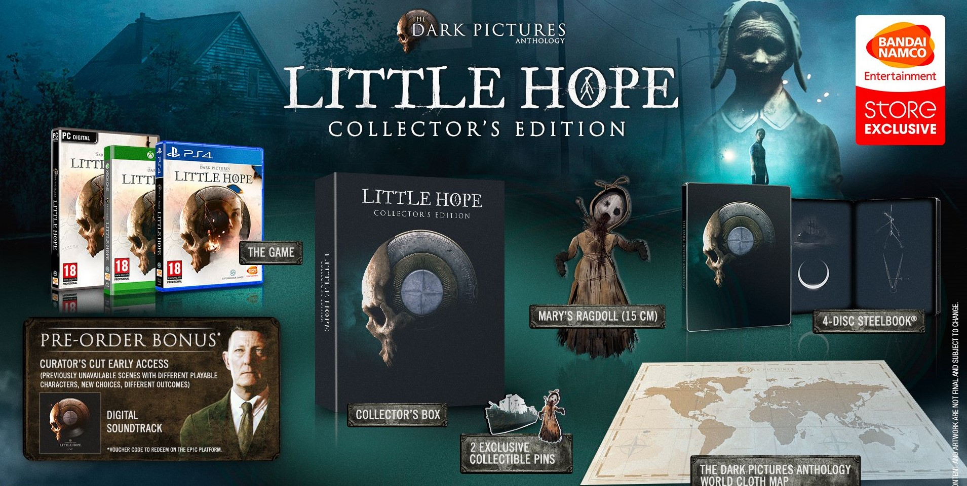 The Dark Pictures Anthology Little Hope Édition Collector