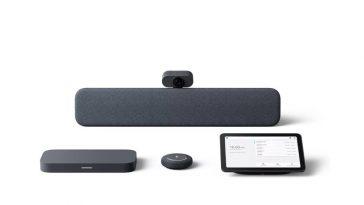 Google propose un kit de réunion en vente sur Meet: à partir de 2700 $, il propose une caméra, un microphone, un haut-parleur et une tablette