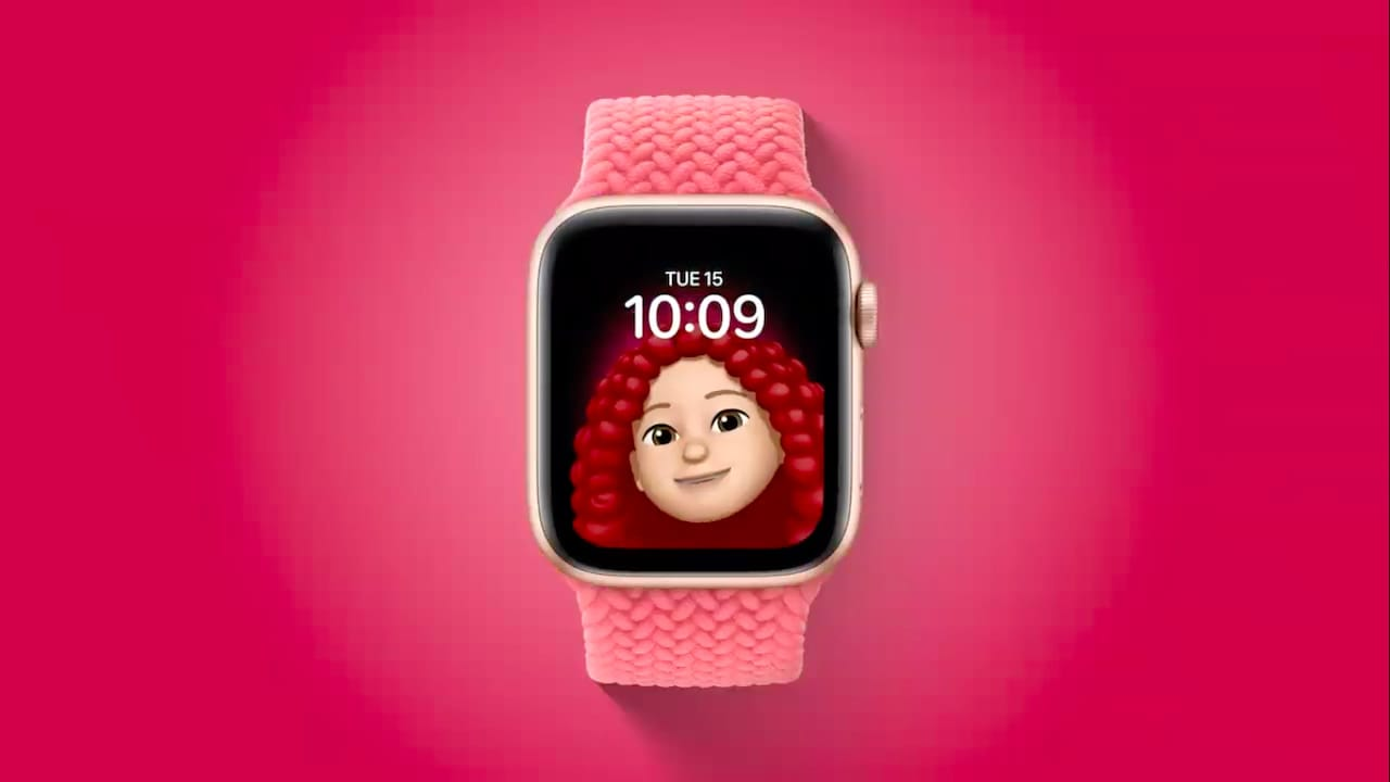 Cadran Apple Memoji