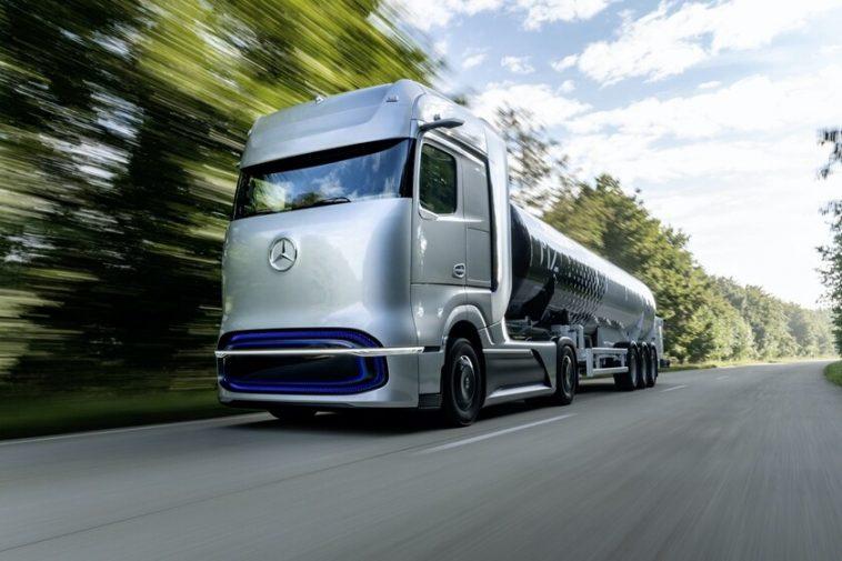 Mercedes-Benz dévoile GenH2: le prototype de camion à hydrogène qui promet 1000 km d'autonomie