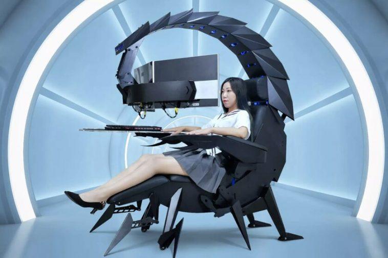 Cluvens IW-SK est la configuration de jeu ultime: en forme de scorpion robot géant, cette configuration est entièrement réglable
