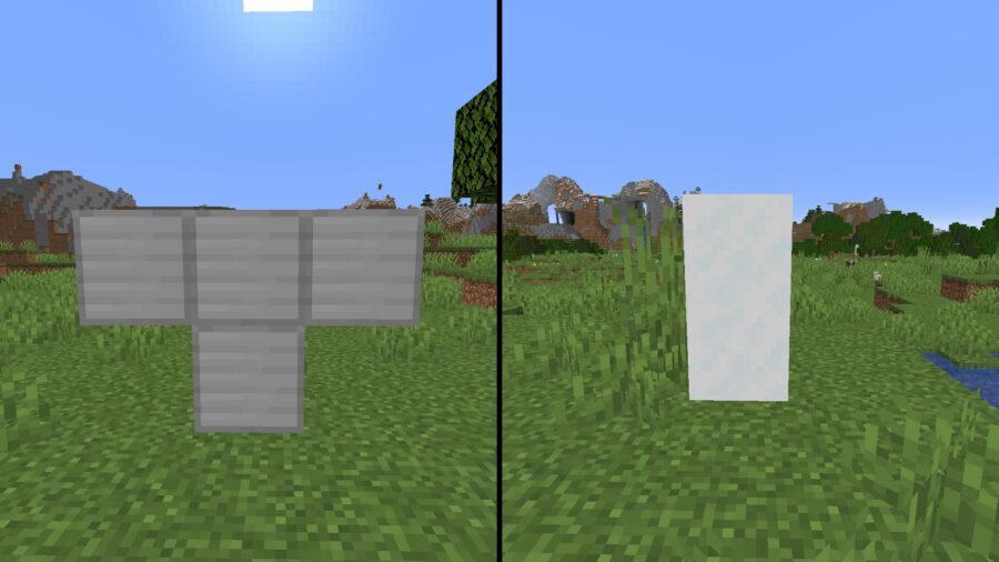 Recettes de Golem de fer et de neige dans Minecraft