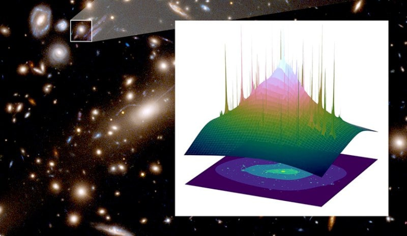 En étudiant l'amas de galaxies Coma en 1933, l'astronome Fritz Zwicky a découvert un problème.  La masse de toutes les étoiles de l'amas ne représentait qu'environ 1% du poids nécessaire pour empêcher les galaxies membres d'échapper à l'emprise gravitationnelle de l'amas.  Il a prédit que