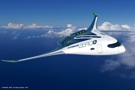 Concept de corps d'aile mixte Airbuszeroe