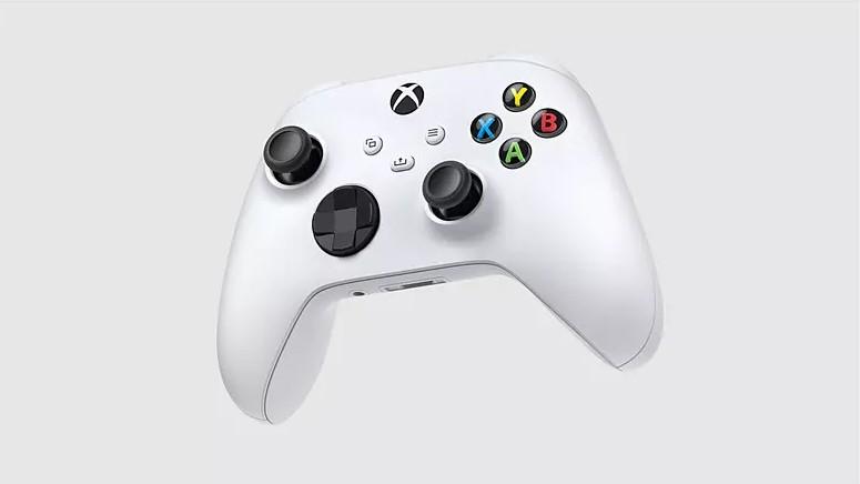 Manette sans fil Xbox Series X en blanc