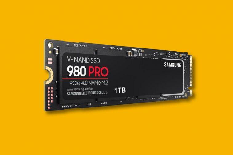 Samsung 980 Pro, le SSD avec PCIe 4.0 NVMe promet des vitesses allant jusqu'à 7000 Mo / s en lecture et 5000 Mo / s en écriture