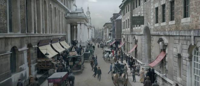 Où Enola Holmes a-t-il été filmé?  Greenwich Naval College remplace Victoria Londres