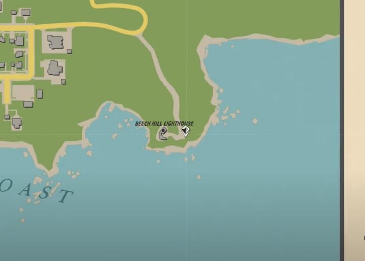 Une section de la carte de Mafia 1