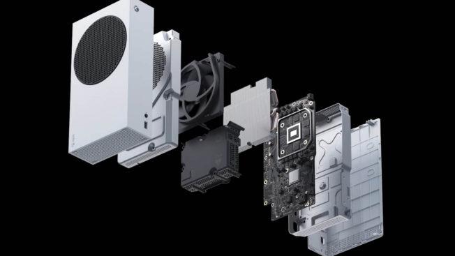 Internes Xbox Series S