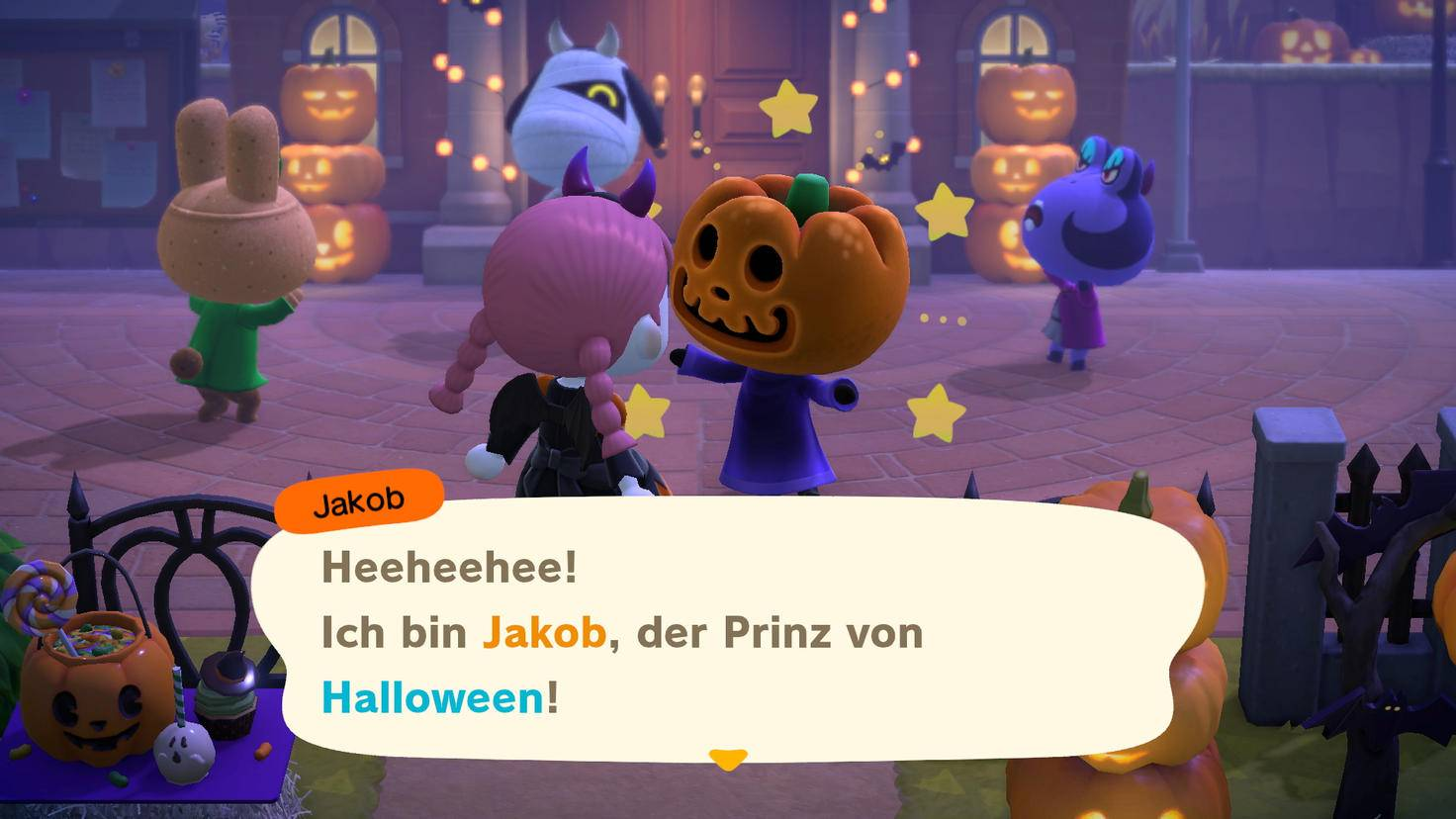 Mise à jour d'Halloween Animal Crossing New Horizons