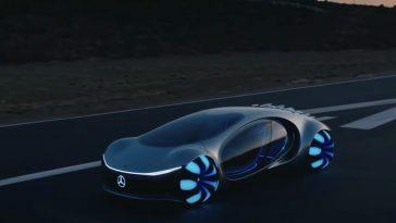 Mercedes-Benz montre en vidéo et exécute Vision AVTR, son concept de véhicule électrique le plus étonnant de tous