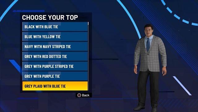 Capture d'écran de NBA 2K21