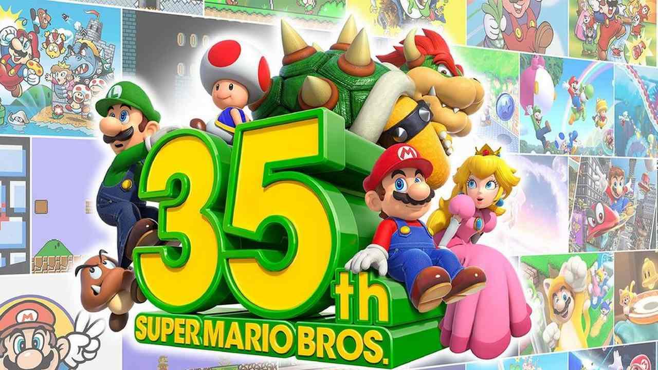 35e Anniversaire De Super Mario Bros: Nintendo Proposera De Nouveaux