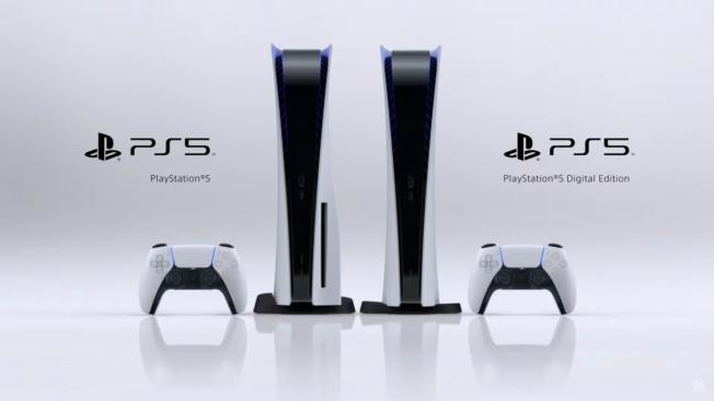 PlayStation 5 et PlayStation 5 Digital