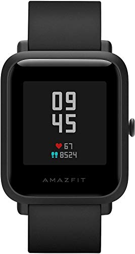 Montre intelligente Amazfit Bip S 5ATM GPS GLONASS montre intelligente Bluetooth Bip 2 pour Android et iOS Version mondiale (noir), 4 + 64 Go