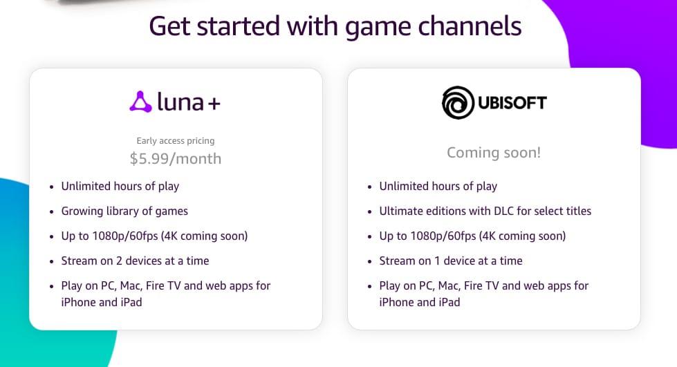 Amazon annonce un nouveau service de jeu de type Stadia appelé Luna, le contrôleur Luna a également annoncé