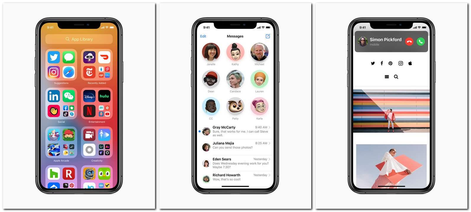 Apple iOS 14, iPadOS 14, watchOS 7, tvOS 14 pour commencer à déployer aujourd'hui: tout ce que vous devez savoir