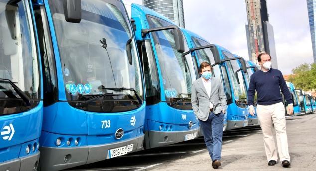 Byd. Madrid Récompense 30 Autres Bus électriques
