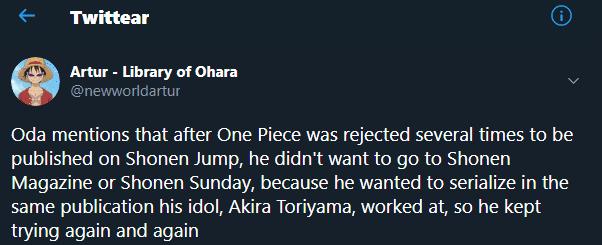 C'est ainsi que Dragon Ball a défini l'avenir de One Piece dans le manga