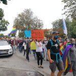 Des Manifestations Pour Les Droits Des Lgbt Franchissent La Frontière
