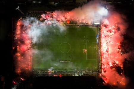 58545 - Dimitris Tosidis - Stade Kleanthis Vikelidis en flammes