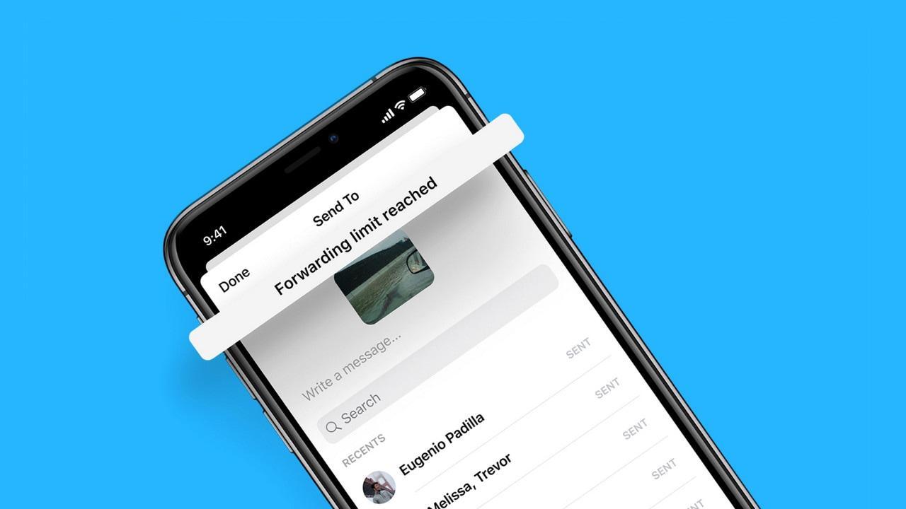 Facebook Messenger limite le transfert de messages à cinq personnes pour lutter contre la désinformation