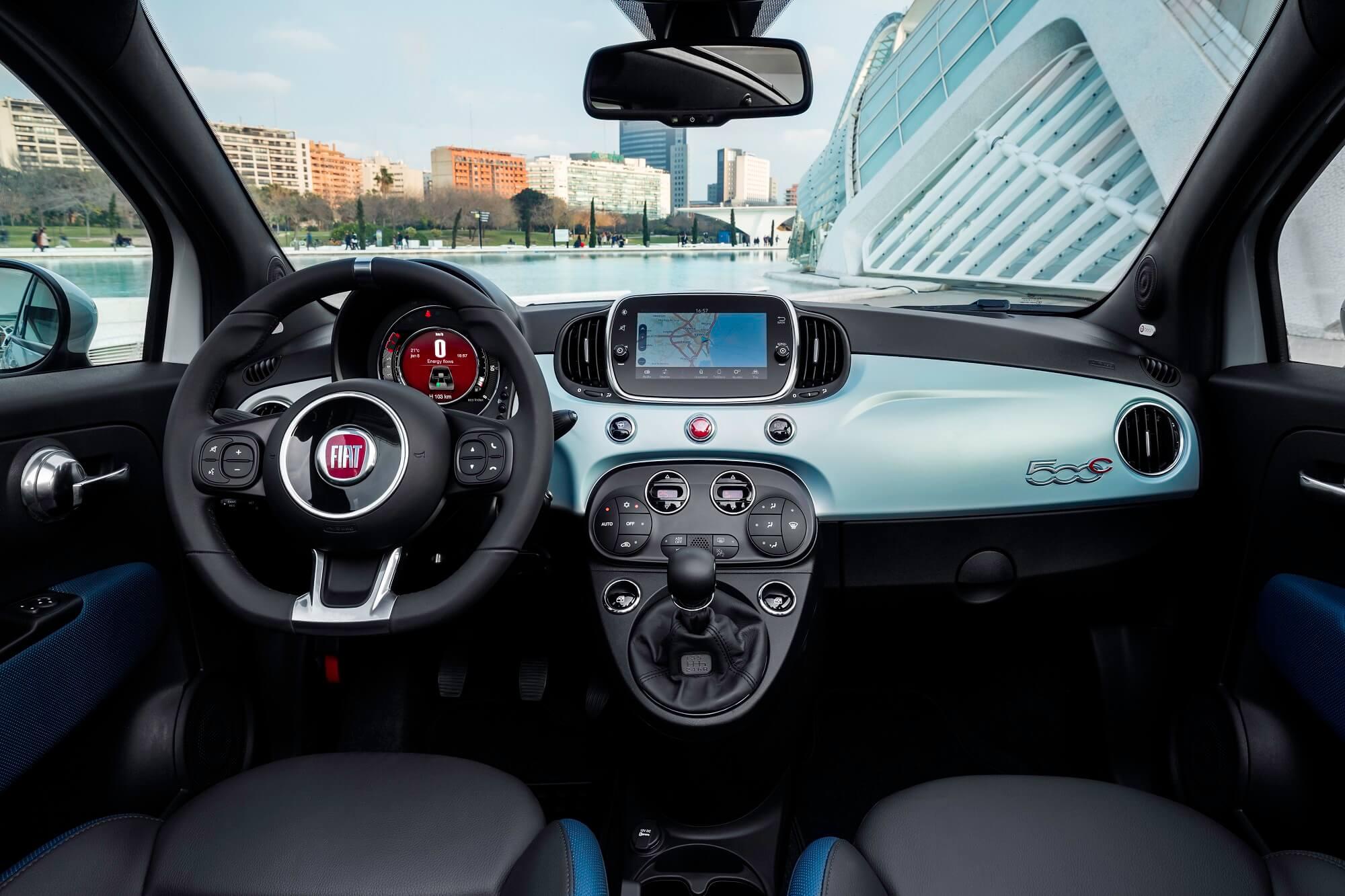 Fiat 500 hybride douce