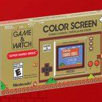 Game & Watch: Super Mario Bros. Nouvelle Console Portable