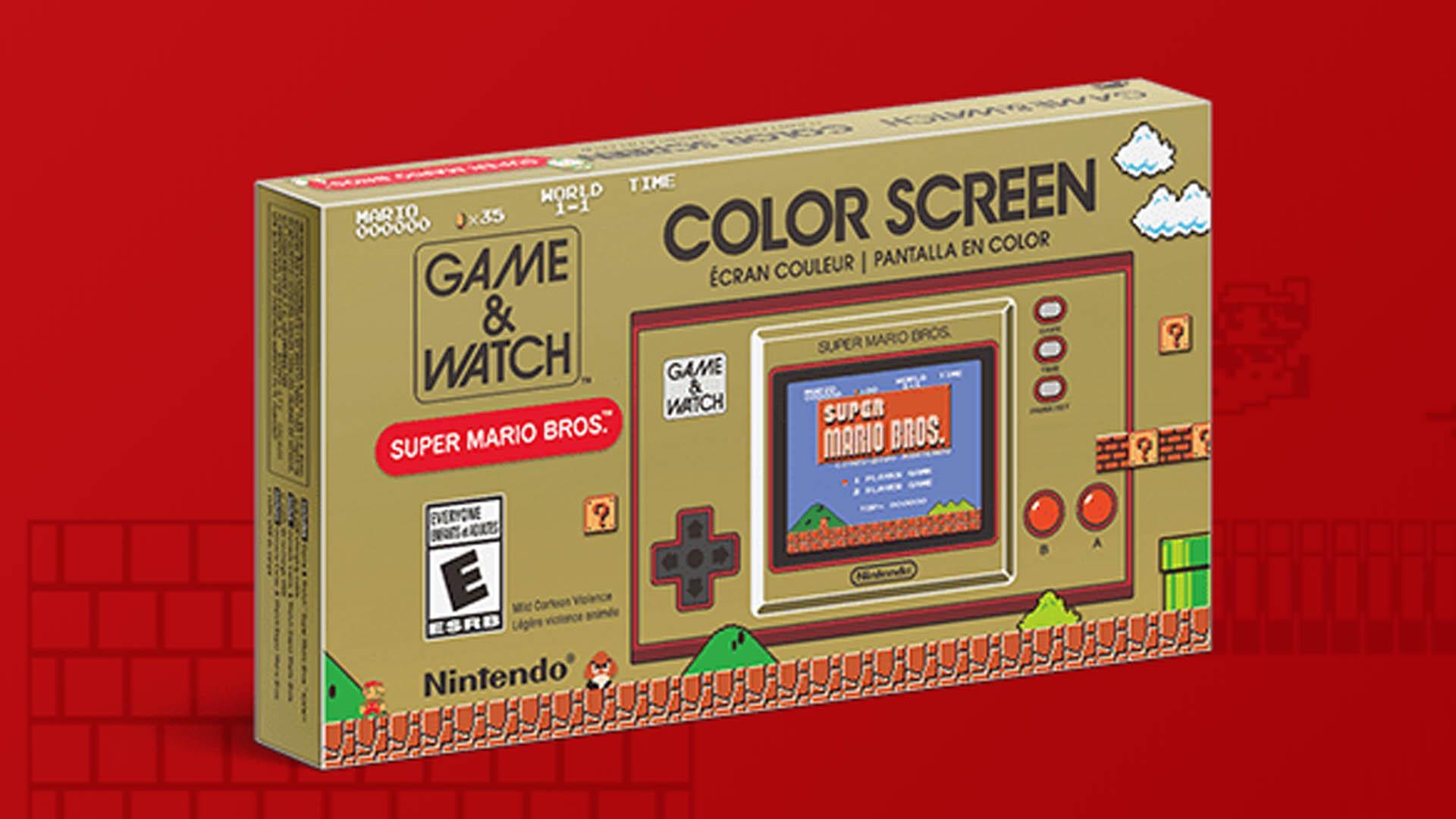 Game & Watch: Super Mario Bros. Nouvelle Console Portable