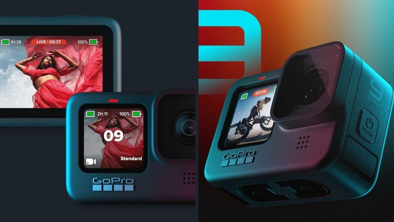 GoPro Hero9 Black avec enregistrement vidéo 5K, capteur 20 MP lancé à Rs 49,500