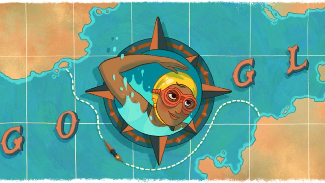 Google Doodle célèbre la nageuse longue distance Arati Saha à l'occasion de son 80e anniversaire de naissance