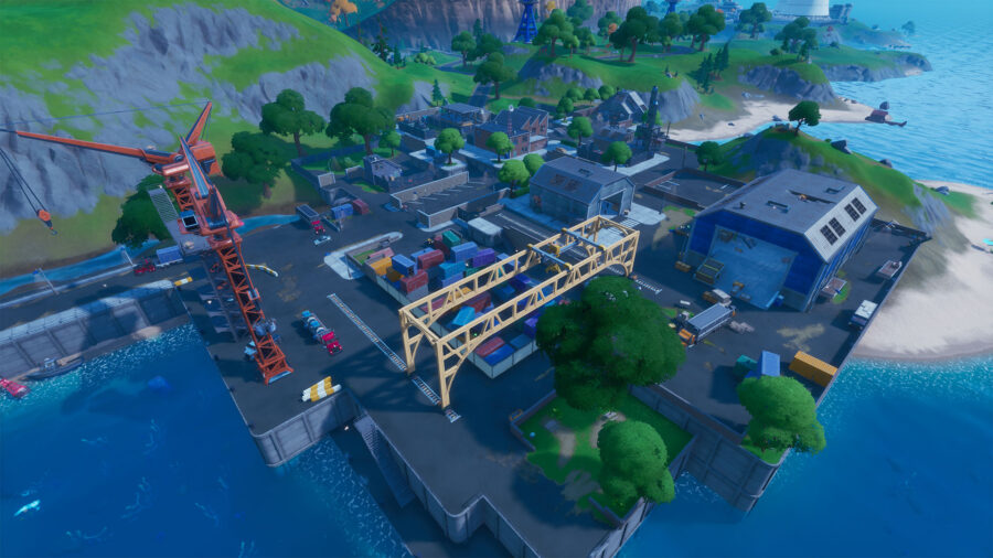 Dirty Docks à Fortnite