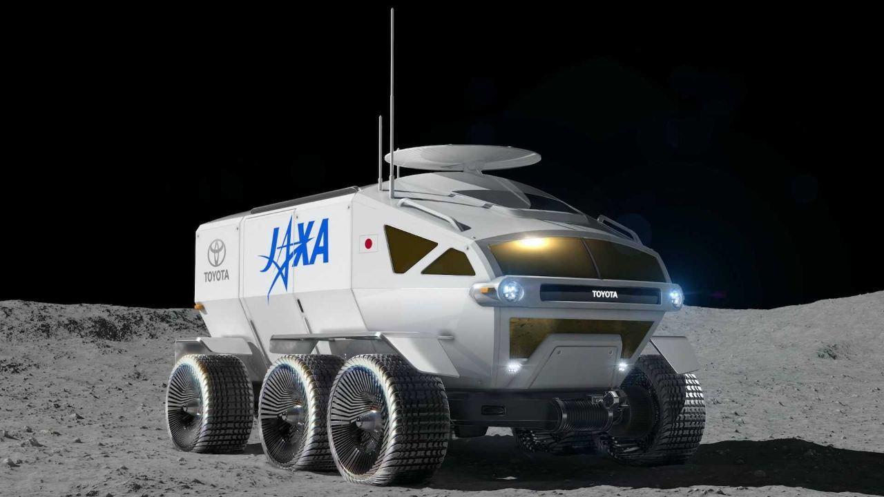 Jaxa Toyota Surnomme Son Rover De Suv Lunaire Habité `` Lunar