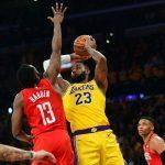 James Harden, Lebron James Pour Renouveler La Rivalité Entre Les Rockets Et Les Lakers