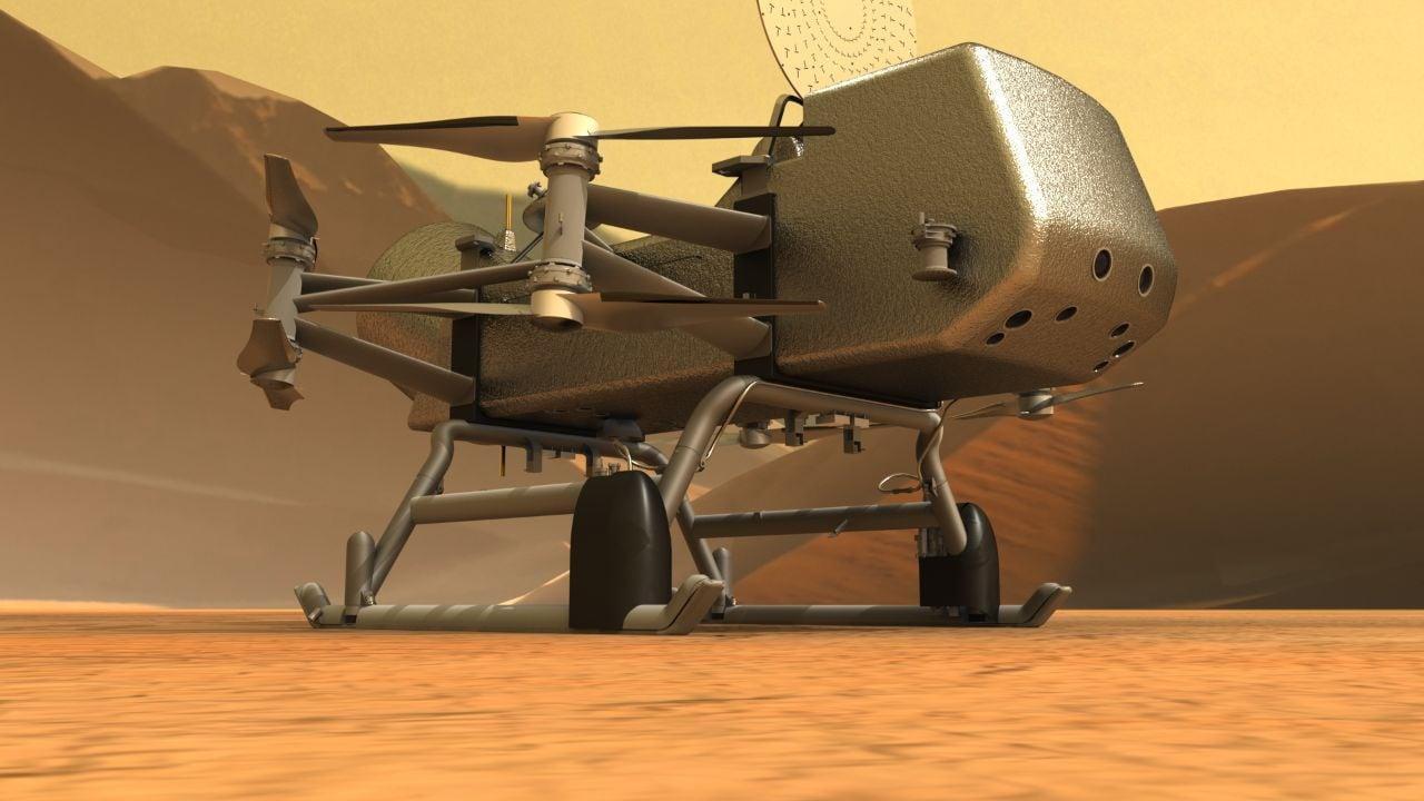 La NASA repousse sa mission Dragonfly sur la lune de Saturne Titan, jusqu'en 2027