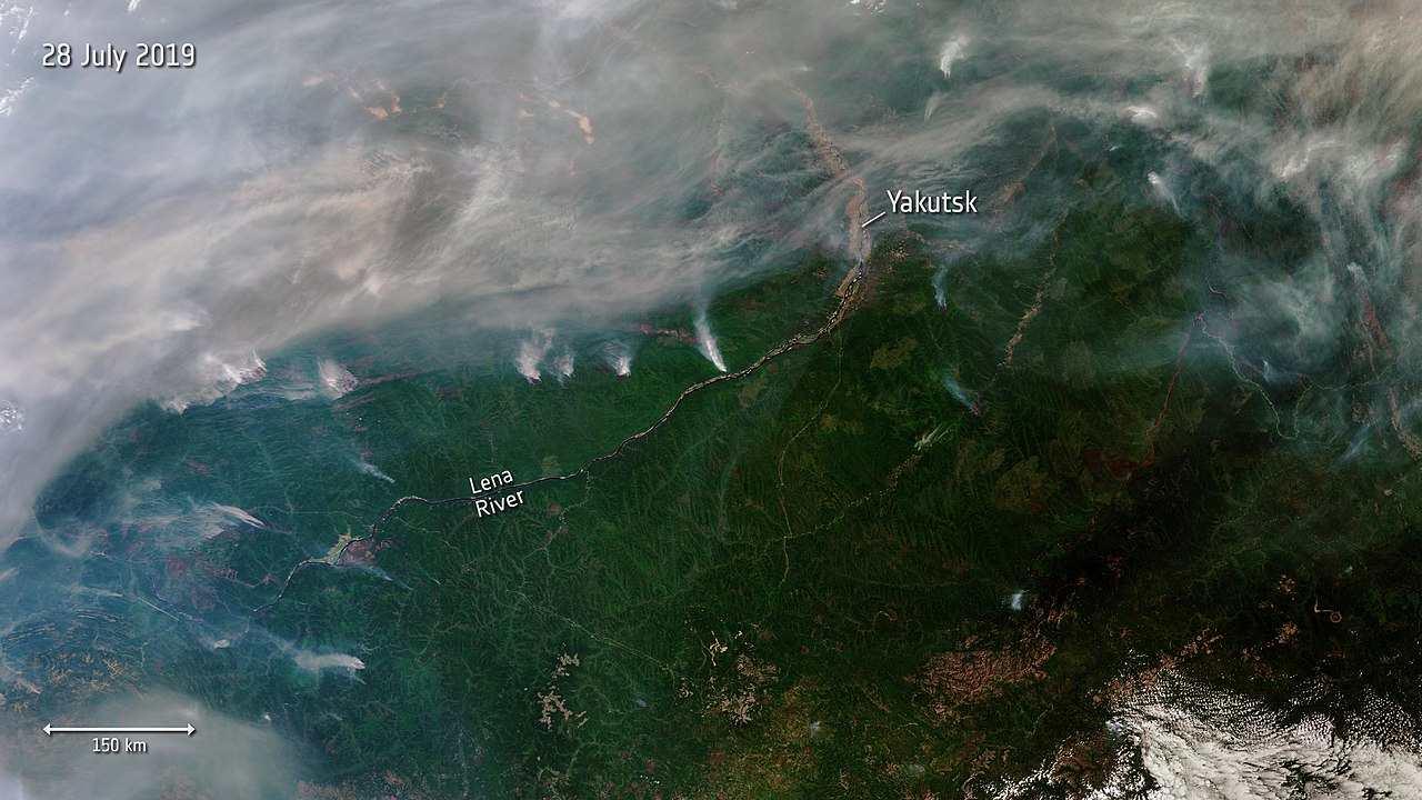 La Sibérie fait face à des incendies de zombies de forêt en raison du changement climatique et libère d'énormes quantités de CO2 dans l'atmosphère