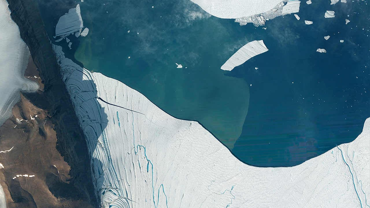La Calotte Glaciaire Du Groenland Est Entrée Dans Un état