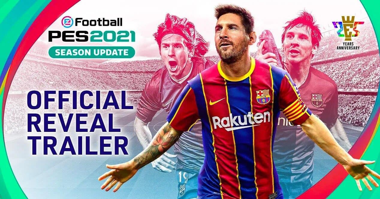 La Couverture D'efootball Pes 2021 N'est Pas En Danger, Messi