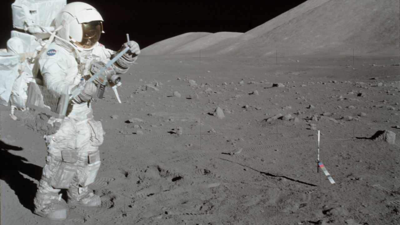 L'atterrisseur Change-4 trouve des niveaux de rayonnement sur la lune 2,6 fois plus élevés qu'à la station spatiale