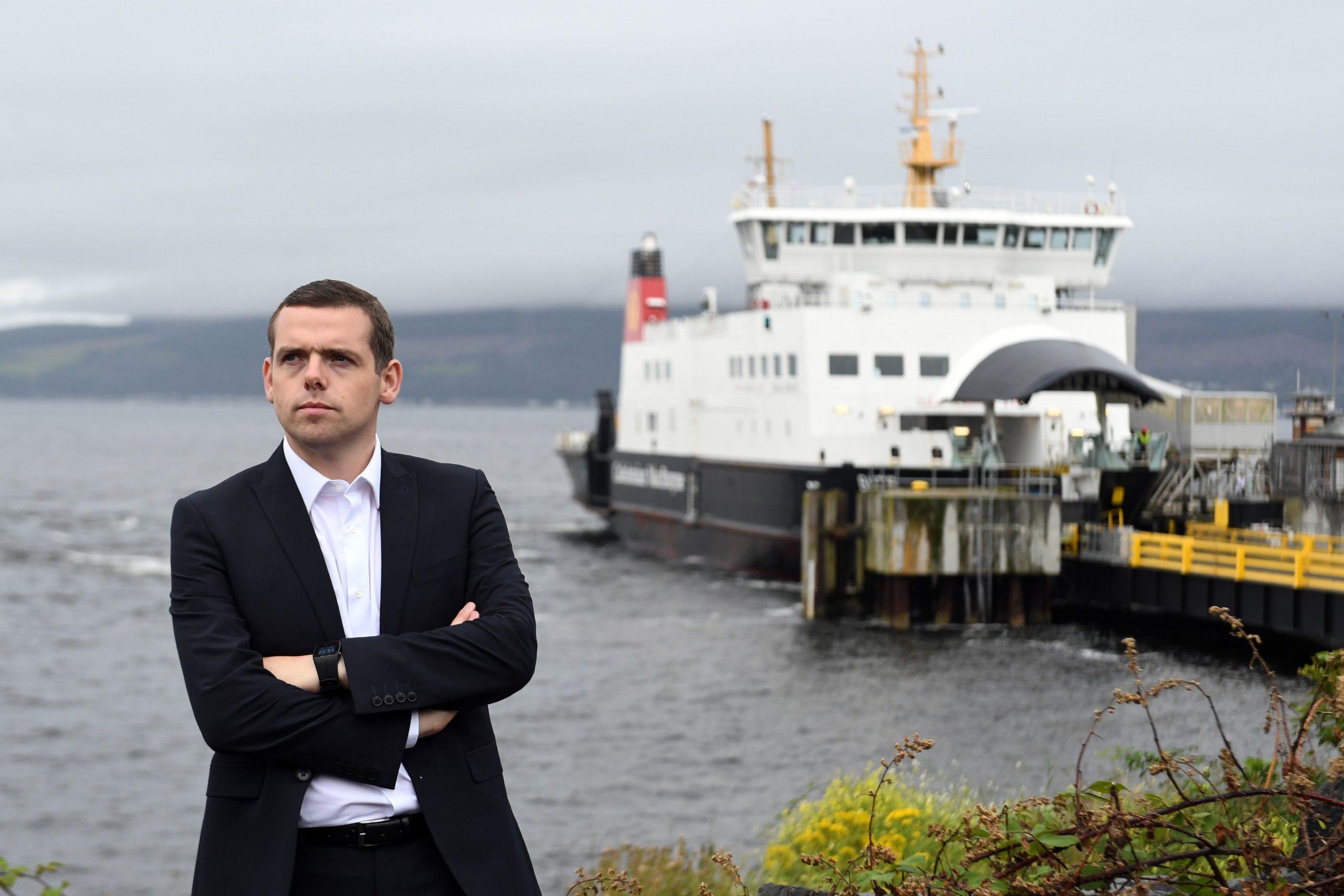 Douglas Ross, le nouveau chef du Parti conservateur écossais