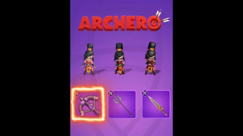 Choix d'armes Mulan pour Archero
