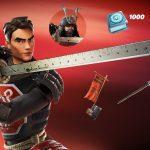 Le Pack Fortnite Samurai Scrapper Est Maintenant Disponible Dans Le
