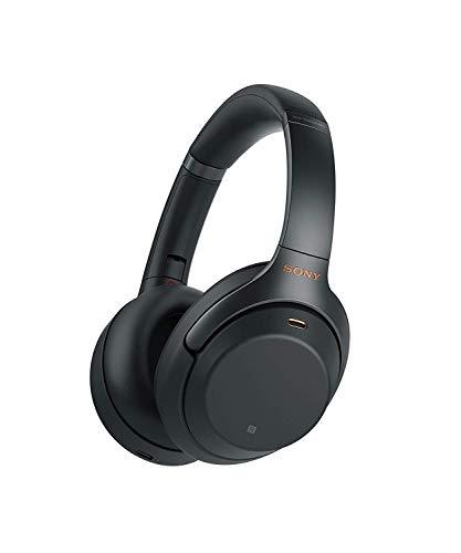 Sony WH1000XM3 - Casque antibruit (Bluetooth, son adaptatif, compatible avec Alexa et Google Assistant, batterie 30h, optimal pour travailler à la maison, appels mains libres), noir