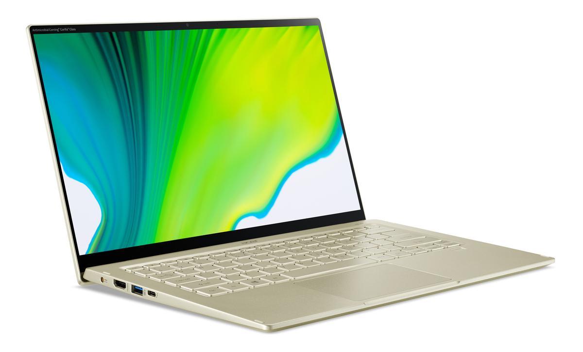 Les Acer Swift 3 Et Swift 5 Placent Le Processeur