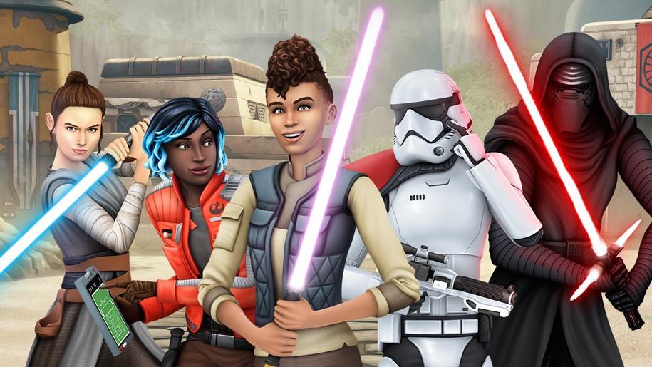 Les Sims 4 Voyage à Batuu Star Wars