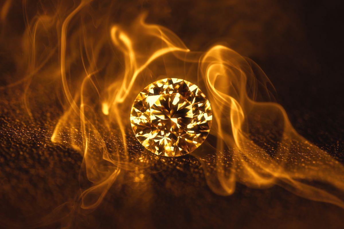 Les Diamants Peuvent Ils Brûler?
