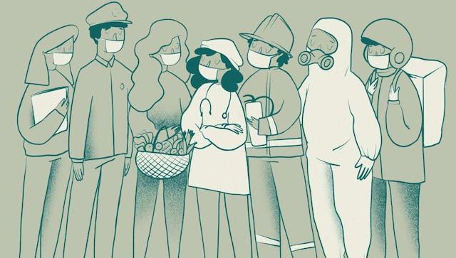 Les nettoyeurs et les travailleurs de la santé des départements autres que les soins intensifs sont plus susceptibles d'être infectés par le COVID-19